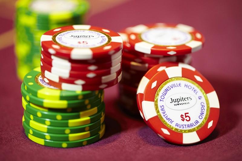 Poker Chip Kumar-2 Kanvas Tablo