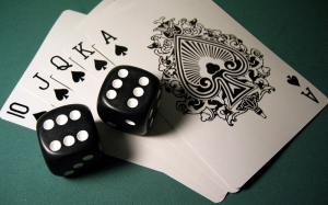 Poker Fotoğraf Kanvas Tablo