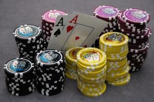 Poker Masası, İskambil Kağıtları, Poker-2 Fotoğraf Dijital Fantastik Kanvas Tablo