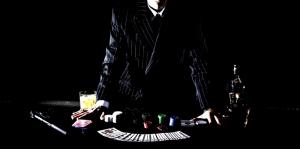 Poker Masası İskambil Kağıtları, Poker 4 Fotoğraf Dijital Fantastik Kanvas Tablo