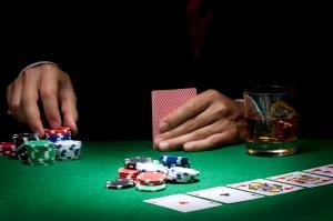 Poker Masası İskambil Kağıtları, Poker 5 Fotoğraf Dijital Fantastik Kanvas Tablo