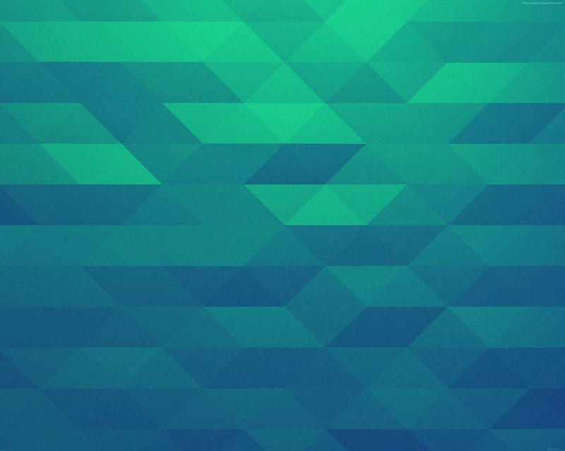 Polygon 3D Üçgen Abstract Kanvas Tablo