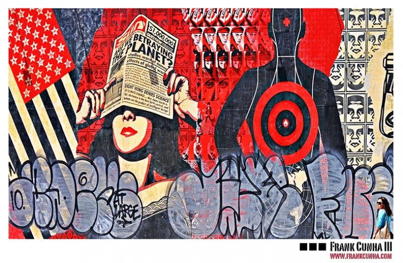 Pop Art Kolaj Yağlı Boya Sanat Kanvas Tablo