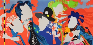 Pop Art Sanat Kanvas Tablo