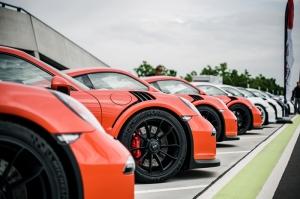 Porsche Carrera RS Otomobil Araçlar Kanvas Tablo