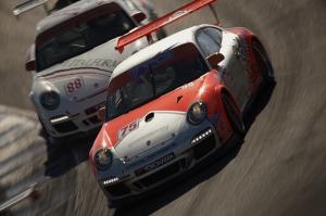 Porsche Rally Otomobil Araçlar Kanvas Tablo