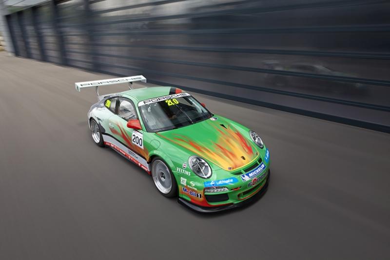 Porsche Spor Otomobil Ralli 2 Kanvas Tablo