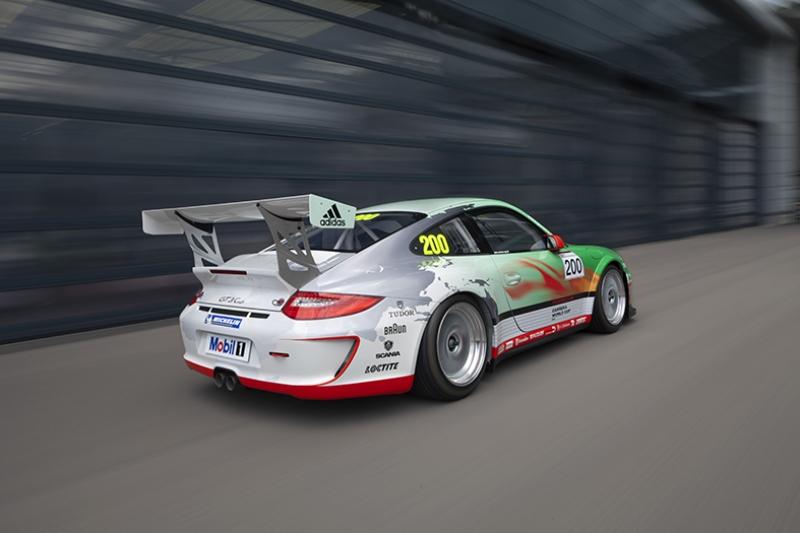 Porsche Spor Otomobil Ralli Kanvas Tablo
