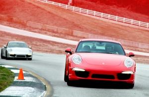 Porsche Spor Otomobiller Kanvas Tablo