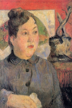 Portrait Of Me, Alexandre Kohler Portresi Paul Gauguin Reproduksiyon Kanvas Tablo
