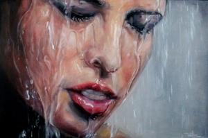 Portre Güzel Manken 2 Sanat Kanvas Tablo