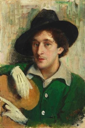 Portre Marc Chagall Klasik Sanat Kanvas Tablo