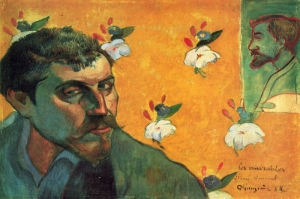 Portresi Paul Gauguin 8 Reproduksiyon Kanvas Tablo