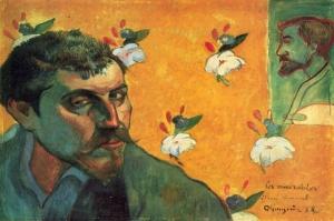 Portresi Paul Gauguin 8 Reproduksiyon Kanvas Tablo