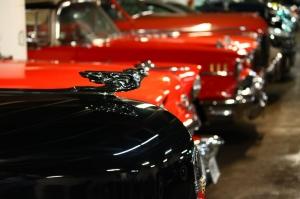 Poster Fotograf Klasik Otomobiller 4 Eski Efsane Arabalar Araclar Kanvas Tablo