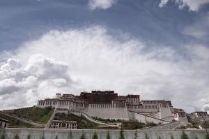 Potala Sarayı Unesco Dünya Kültür Mirasları Kanvas Tablo