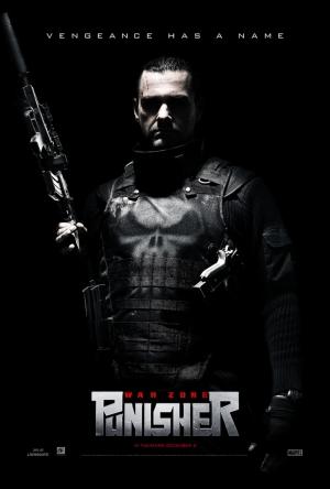 Punisher Afiş Kanvas Tablo