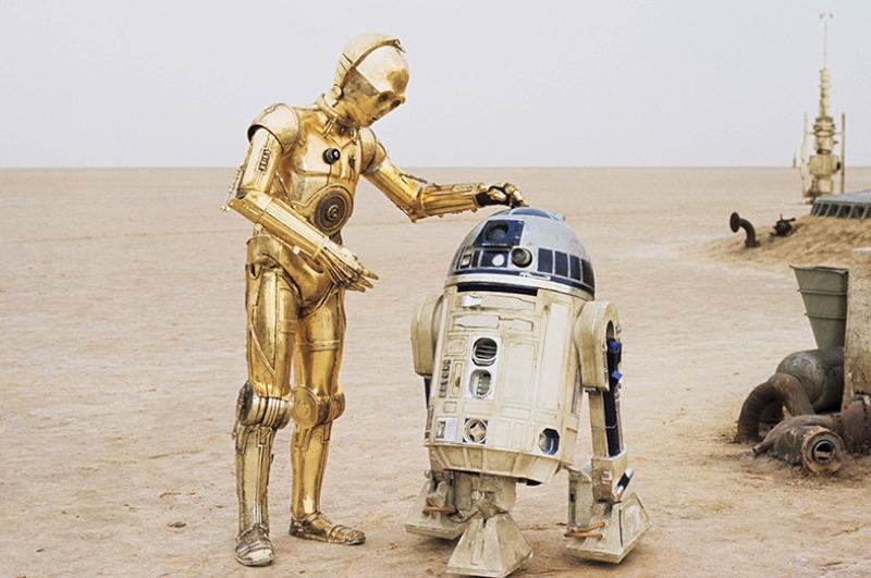 R2D2 Star Wars Kanvas Tablo