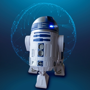 R2D2 Star Wars Sinema Kanvas Tablo