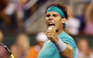 Rafael Nadal Tenis Kanvas Tablo