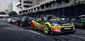 Ralli Yarış Otomobil Kanvas Tablo