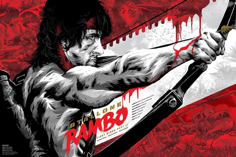Rambo İllustrasyon Tablo