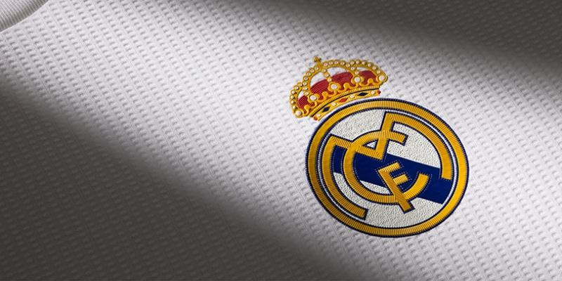 Real Madrid Logo Spor Kanvas Tablo
