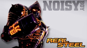 Real Steel Noisy Boy Kanvas Tablo