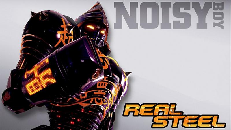Real Steel Noisy Boy Kanvas Tablo