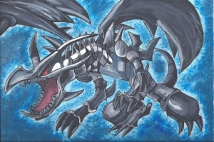 Red Eyes Black Dragon Gyarados 13 Pokemon Karakterleri Kanvas Tablo
