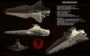 Redeemer Gemisi Star Wars Kanvas Tablo