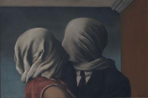Rene Magritte Asiklar Yagli Boya Klasik Sanat Kanvas Tablo