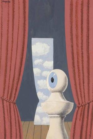 Rene Magritte Belçika Sürrealizim Hommage A Shekspare Haraç Klasik Sanat Kanvas Tablo