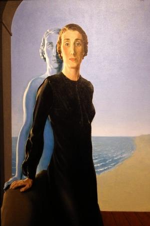 Rene Magritte Belçika Sürrealizim Klasik Sanat Kanvas Tablo