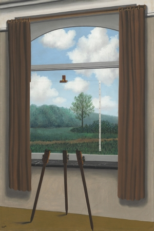 Rene Magritte, Belçika, Sürrealizim The Human Condition Klasik Sanat Kanvas Tablo