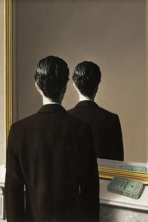 Rene Magritte, Belçika, Tekrar Kopyalanamaz Klasik Sanat Kanvas Tablo