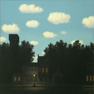Rene Magritte Isigin Imparatorlugu Yagli Boya Klasik Sanat Kanvas Tablo