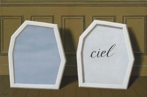 Rene Magritte Perdelerin Sarayi Uc Yagli Boya Klasik Sanat Kanvas Tablo
