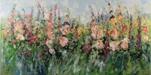 Rengarenk Çiçekler 4, Floral, Dekoratif Kanvas Tablo