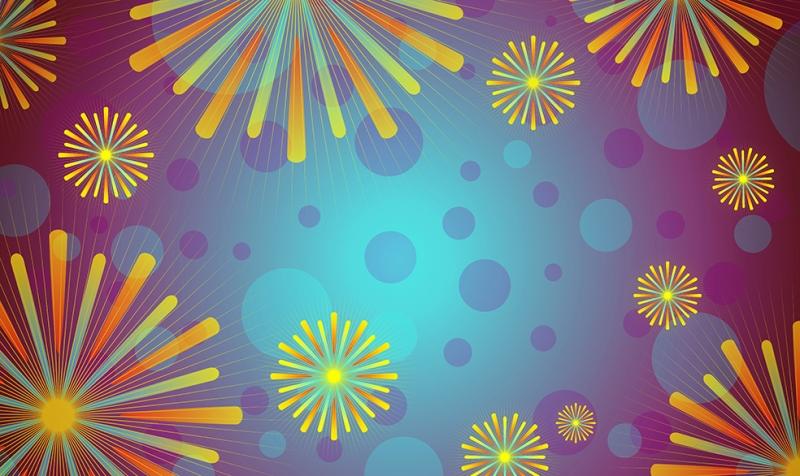Renkli Abstract 2 Dijital ve Fantastik Kanvas Tablo