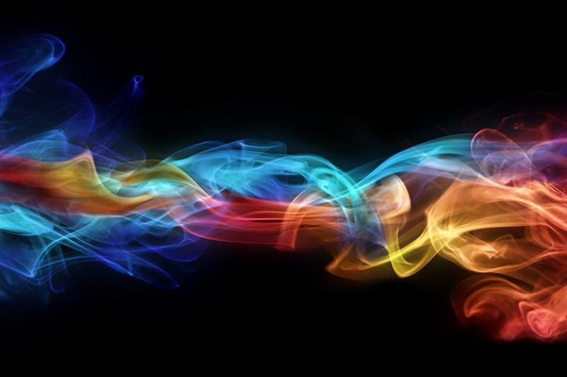 Renkli Abstract Dijital ve Fantastik Kanvas Tablo 2