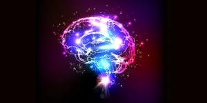 Renkli Beyin 3d Zihin Yaratıcılkık Kanvas Tablo