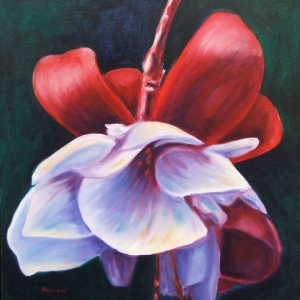 Renkli Çiçekler 1 Dekoratif  Kanvas Tablo