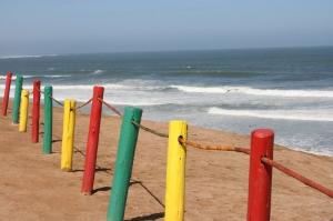 Renkli İskele Doğa Manzaraları Kanvas Tablo