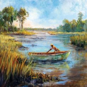 Renkli Kayıklar Yelkenliler Deniz Manzara 10 Dekoratif Canvas Tablo