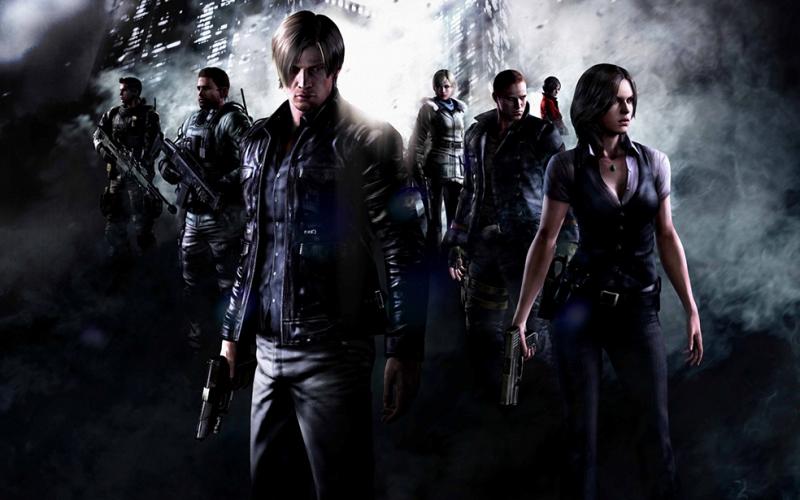 Resident Evil 6 Popüler Kültür Kanvas Tablo