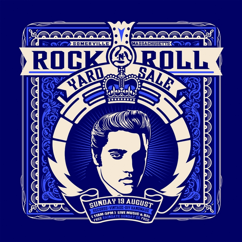 Retro art Elvis Presley İllustrasyon Çizim Kanvas Tablo