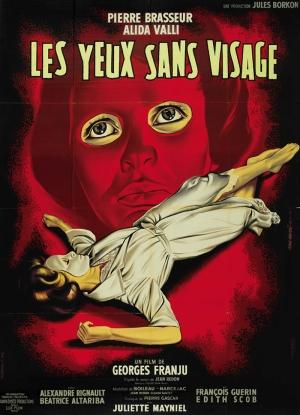 Retro Eski Film Kadın Korku Poster Kanvas Tablo
