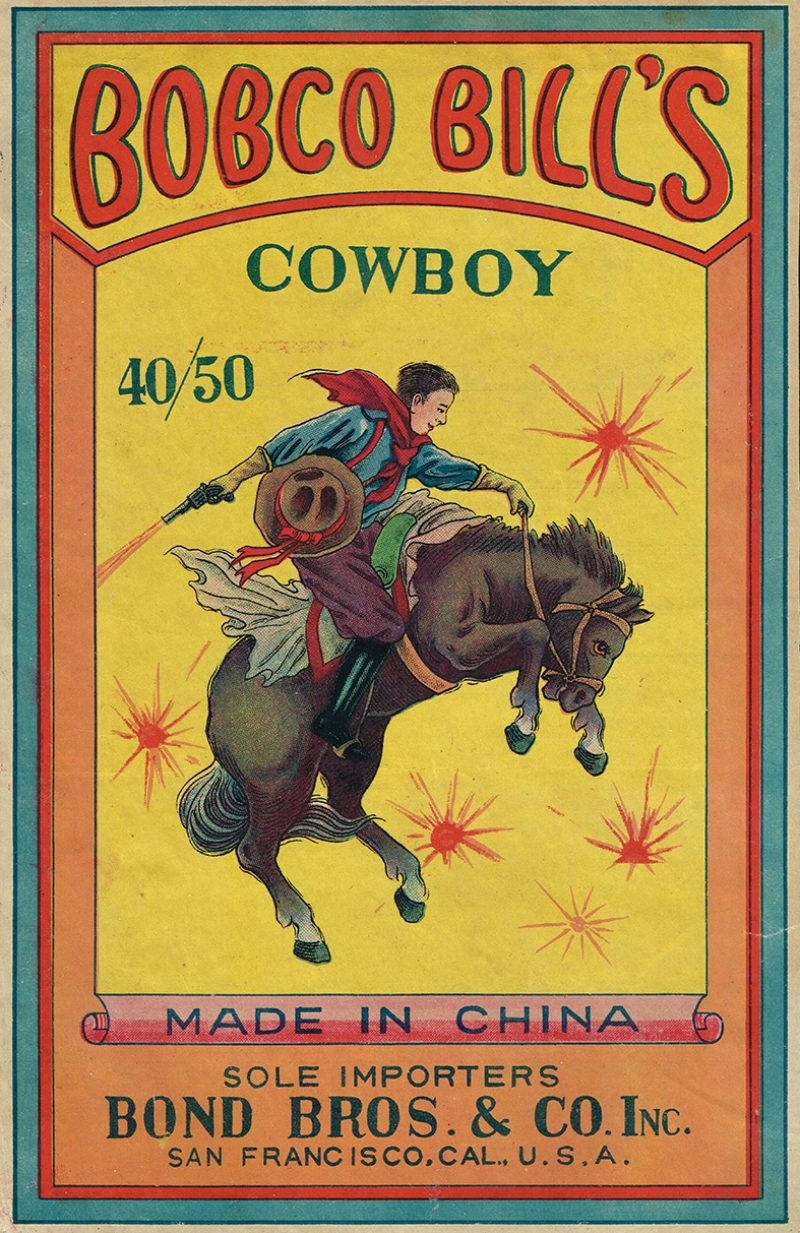 Retro Eski Poster Çocuk Rodeo Kovboy Kanvas Tablo
