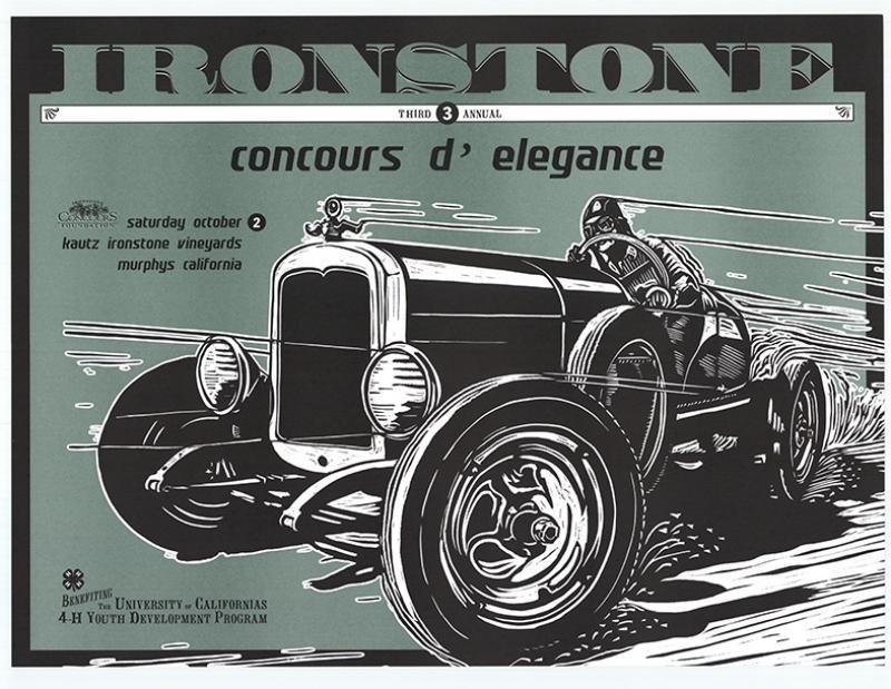 Retro Eski Poster Eski Otomobil Kanvas Tablo